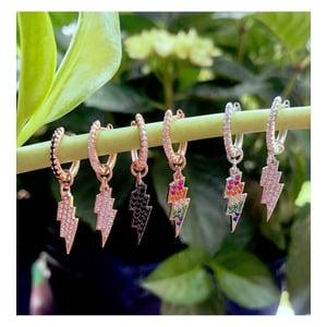 Image of Bolt earrings