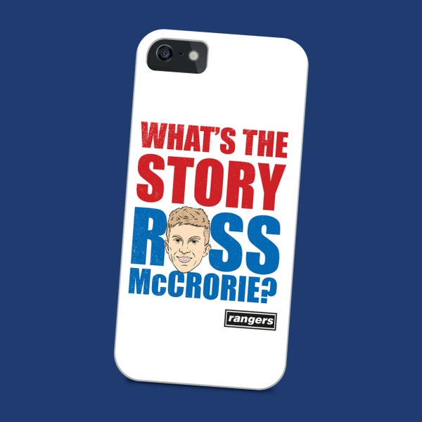 Image of What's the story Ross McCrorie? phone case