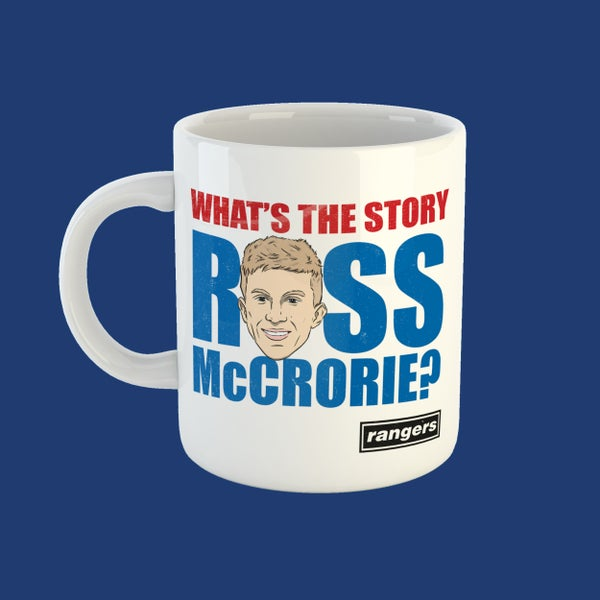 Image of What's the story Ross McCrorie? mug