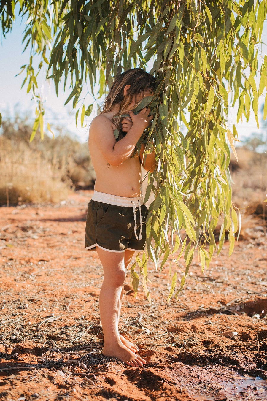 Image of Happy Camper Shorts - Eucalypt