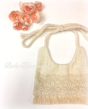 Image of Linen & Lace Bib