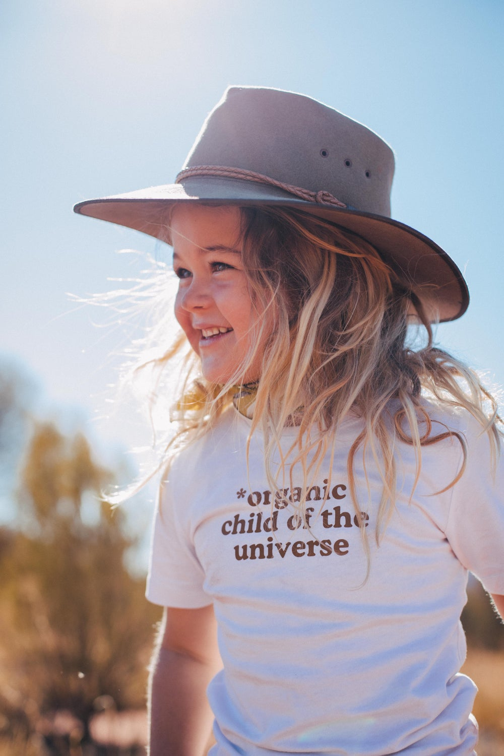 Image of *Organic Child of the Universe Organic Tee - White