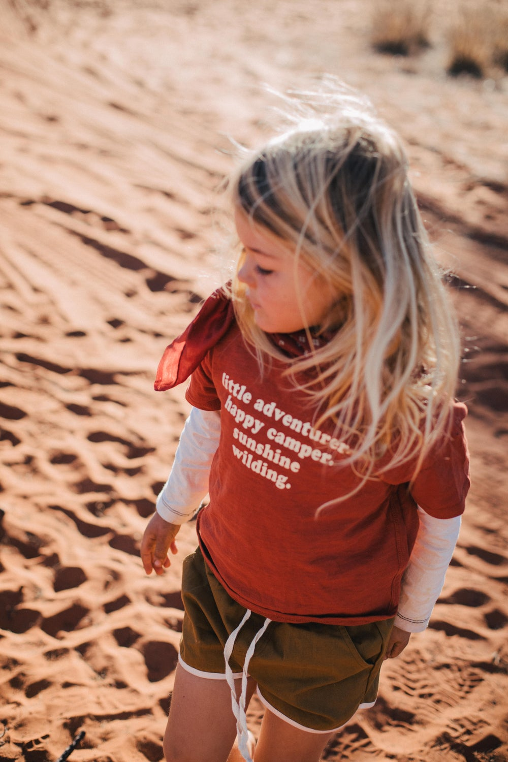 Image of Little Adventurer Tee - Burnt Sienna