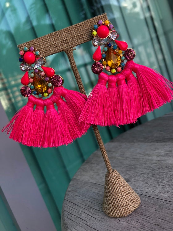 Image of Erica Statement Earrings