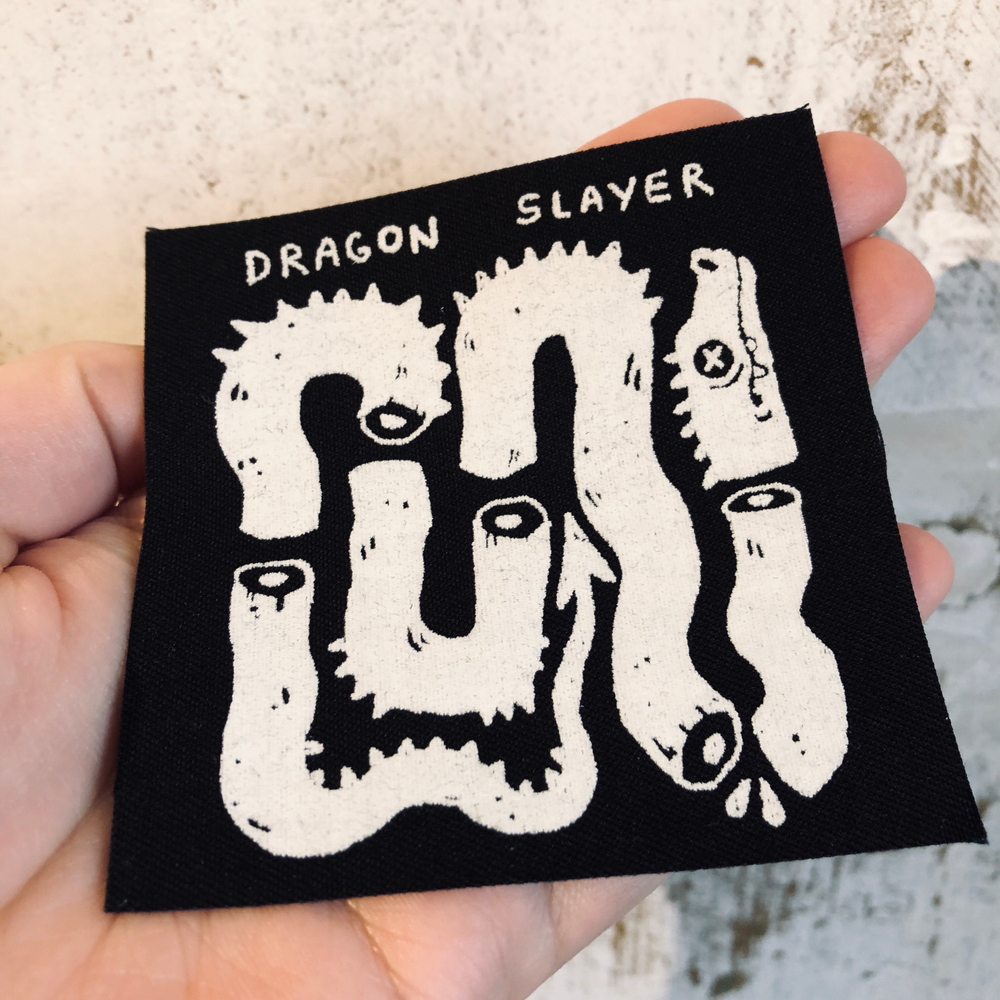 Image of DRAGON SLAYER patch