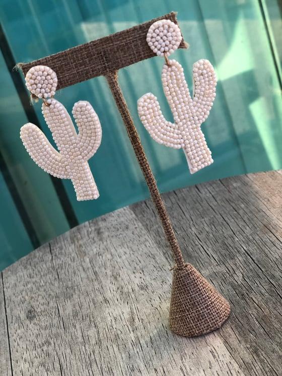 Image of Gabriella cactus earrings