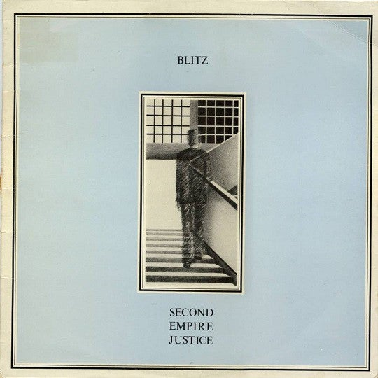 Image of BLITZ - Second Empire Justice LP Re-Issue