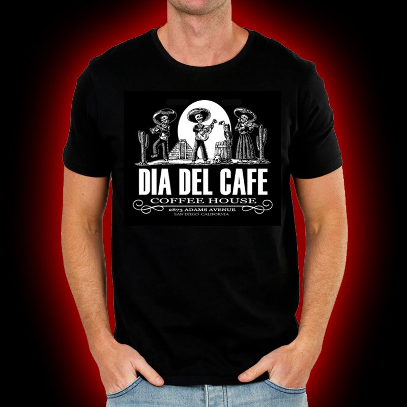 Image of Dia Del Cafe - Coffee House shirt