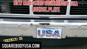 Image of SBUSA License Plate