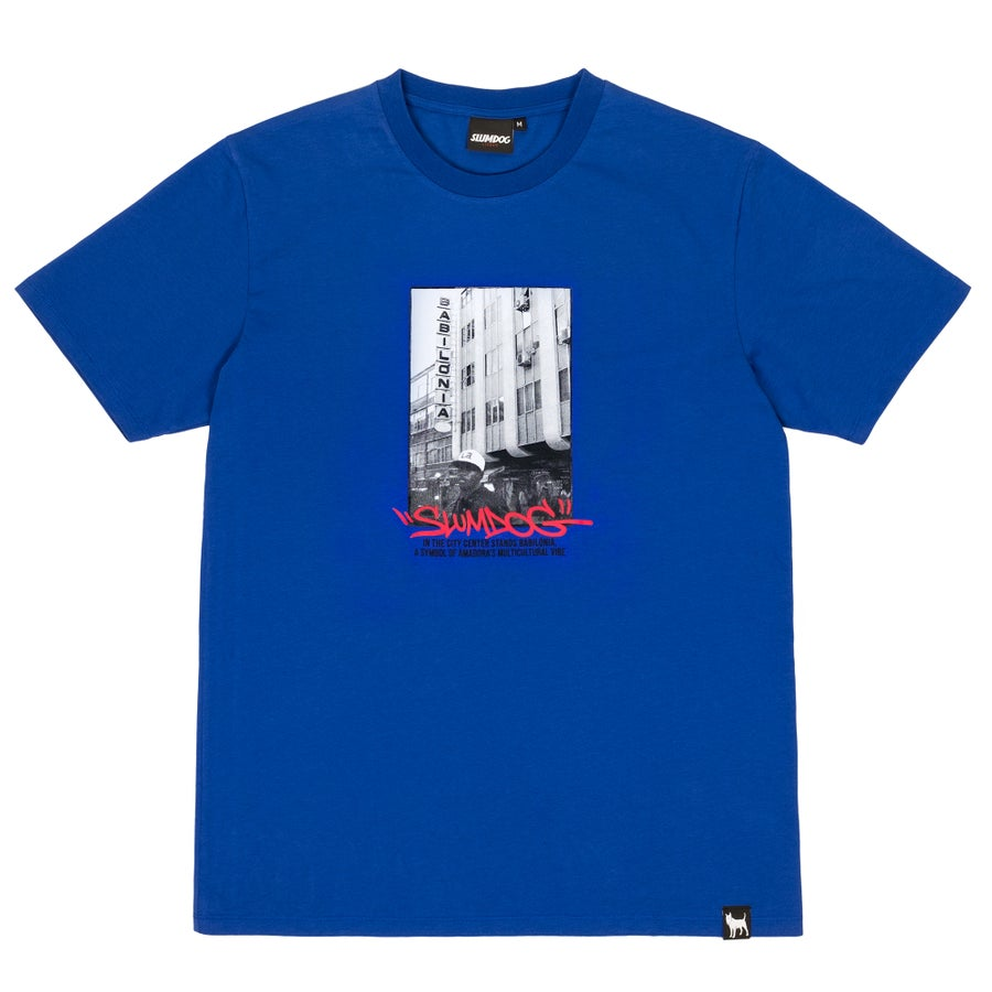 Image of BABILÓNIA TEE <br> ROYAL