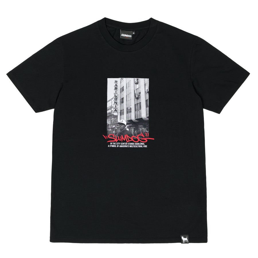 Image of BABILÓNIA TEE <br> BLACK