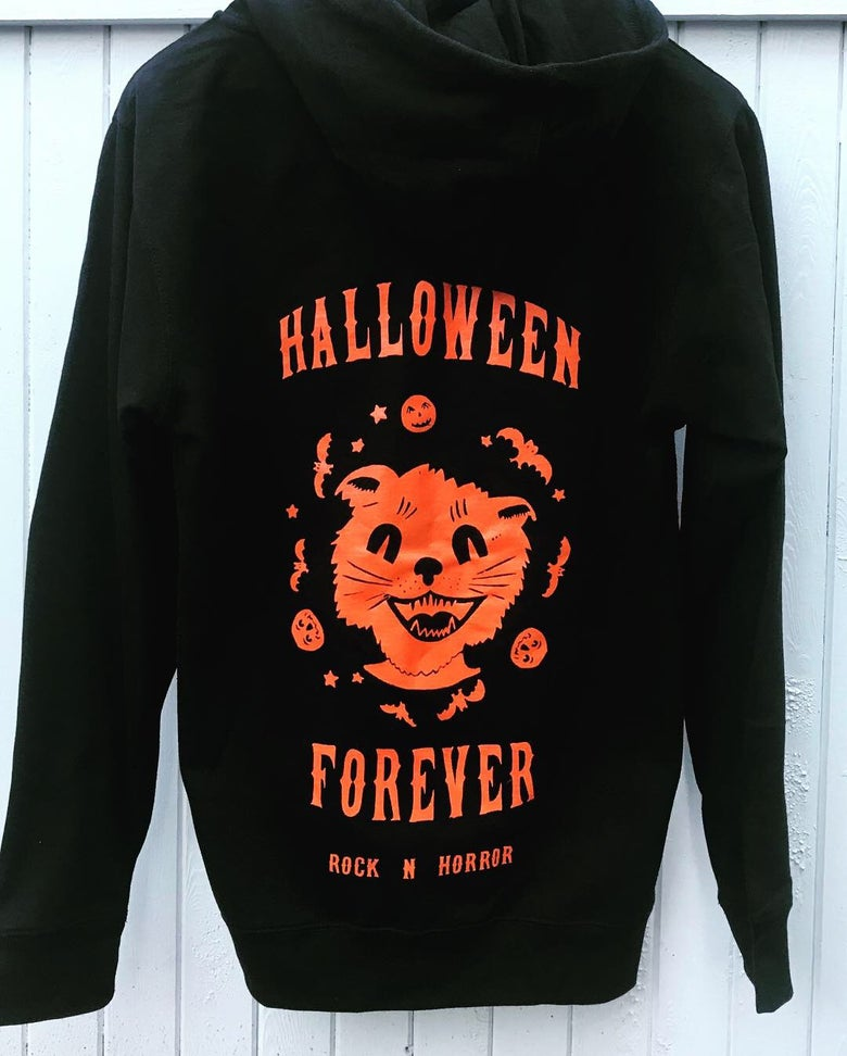 Image of Halloween Forever Zip Up Hoodie