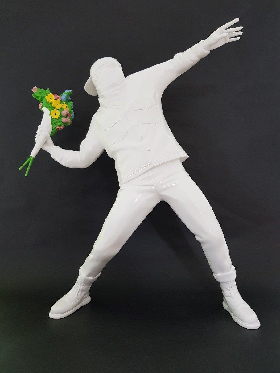 Image of MEDICOM BANKSY FLOWER BOMBER BRAND NEW