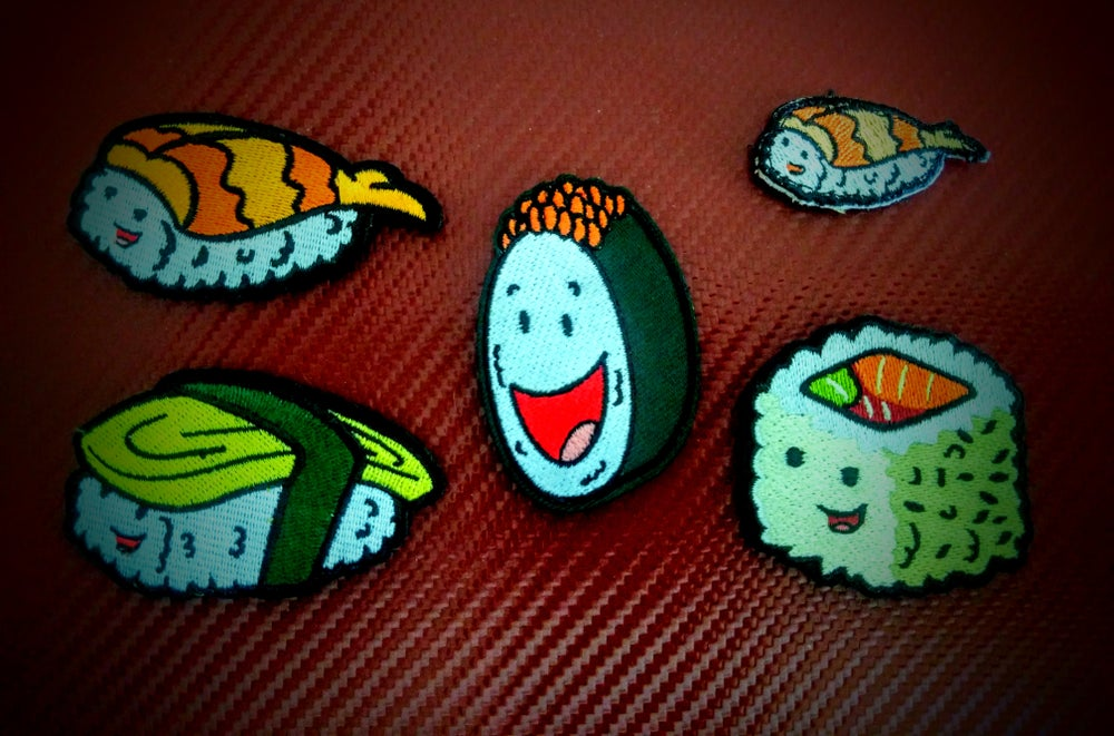 Image of Gunkan Maki Sushi Bros Patch