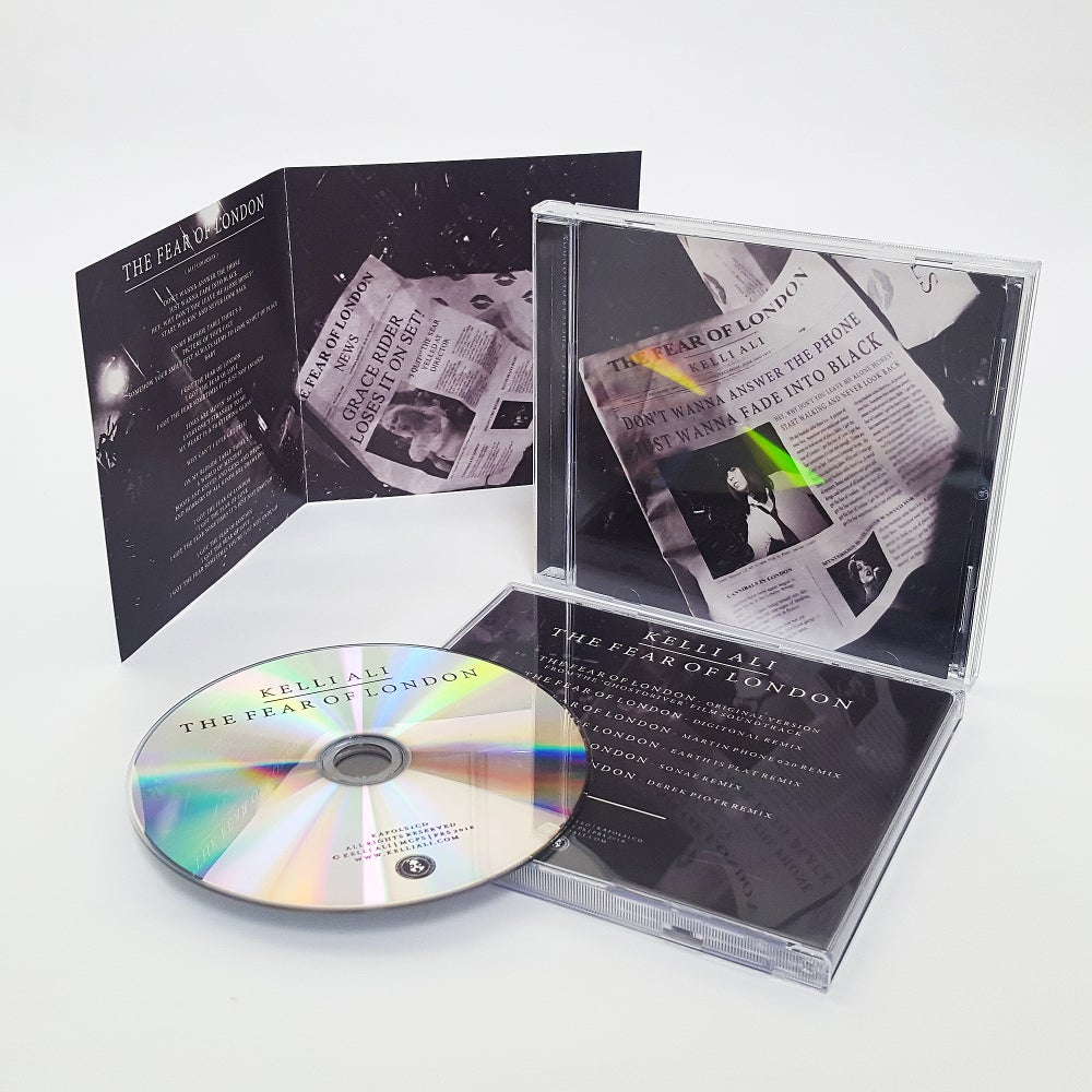 Image of Pre -Order Fear of London Ltd Remix EP CD Rare Signed