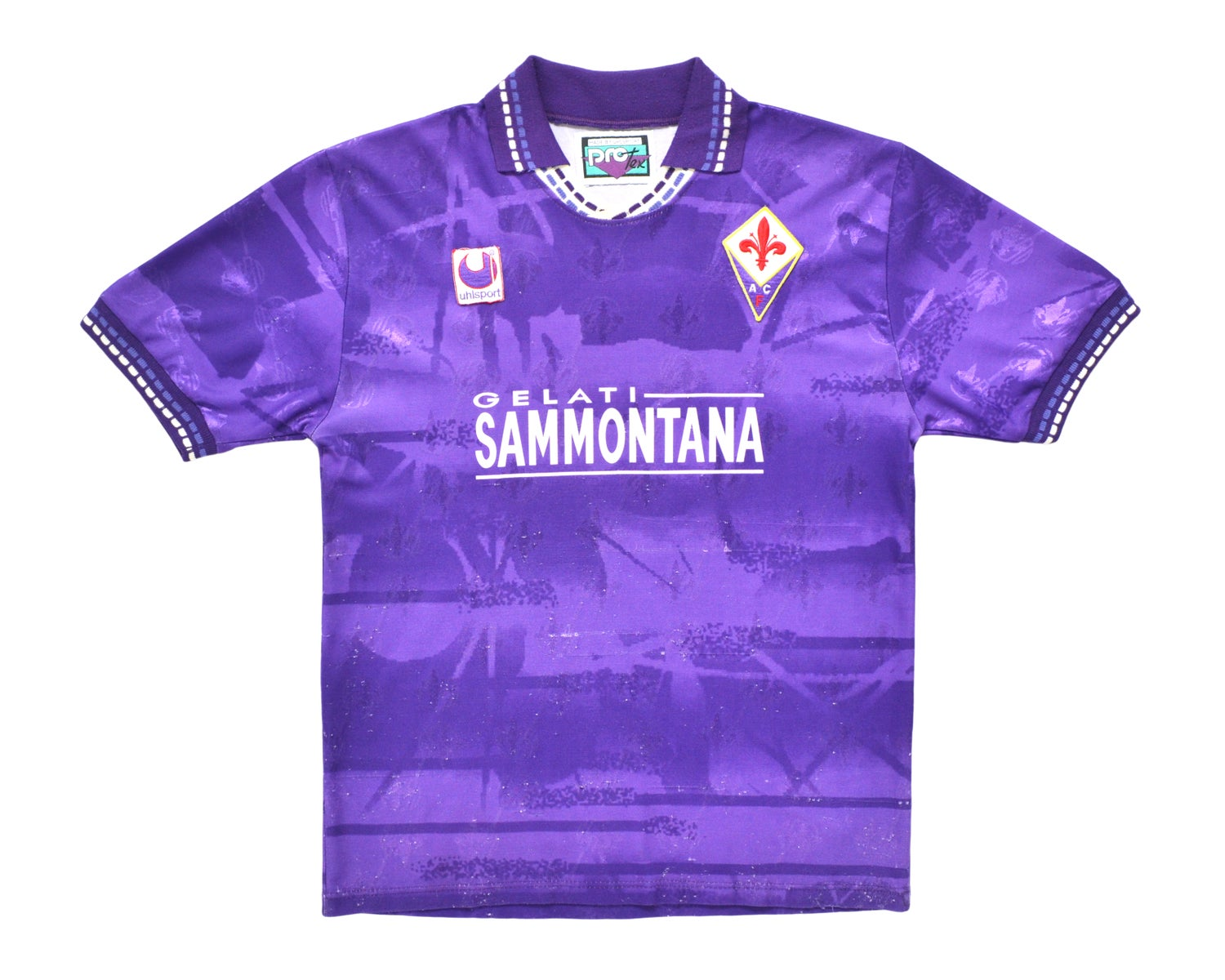 Image of 1994-95 Uhlsport Fiorentina Home Shirt  'Batistuta 9' L