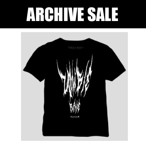 Image of [ARCHIVE SALE] Zombie Island Black Metal Logo