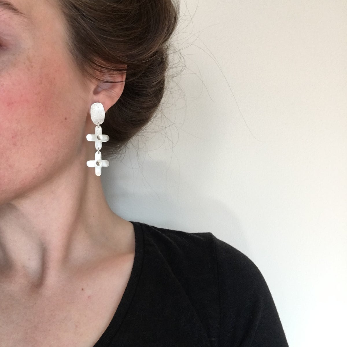 Image of mini anon earring