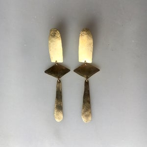 Image of list earring
