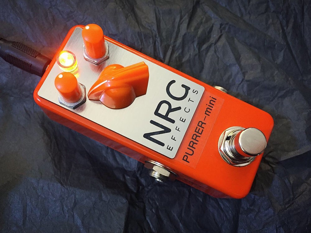 Image of PURRER-mini - ORANGE