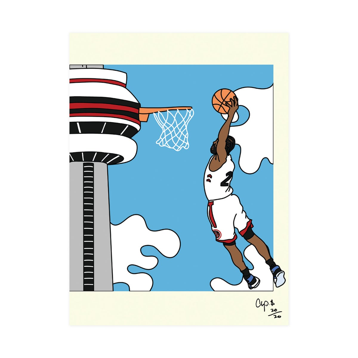 Image of CN Tower Dunk