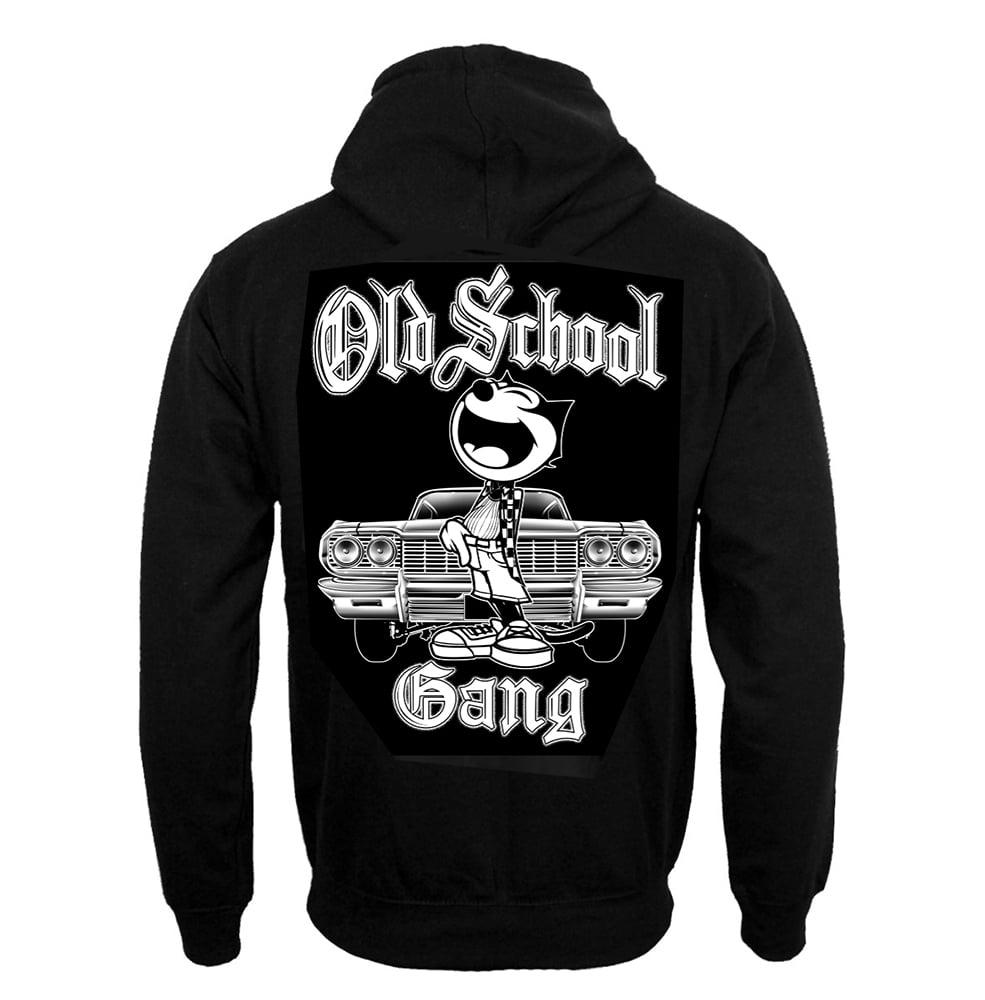 Image of #101H OLD SCHOOL GANG HOODIE