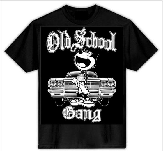 Image of OLD SCHOOL GANG T-SHIRT