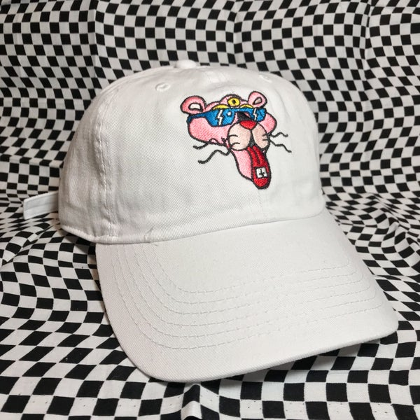 Image of Pink Sunshine white strapback
