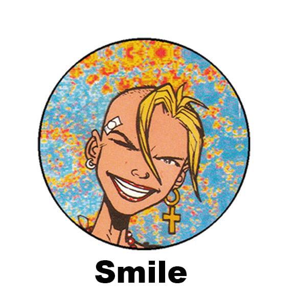 Image of Tank Girl Badges