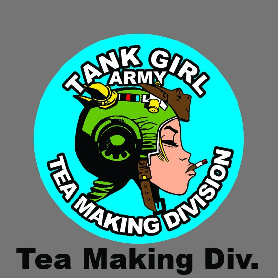 Image of NEW Tank Girl Badges