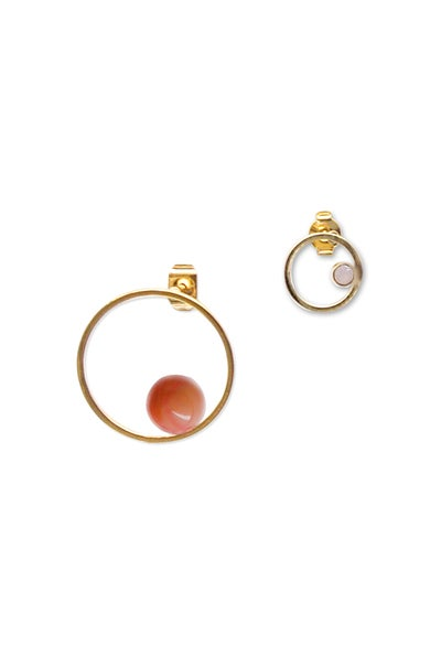 Image of Boucles d'oreilles BUBBLE DUO