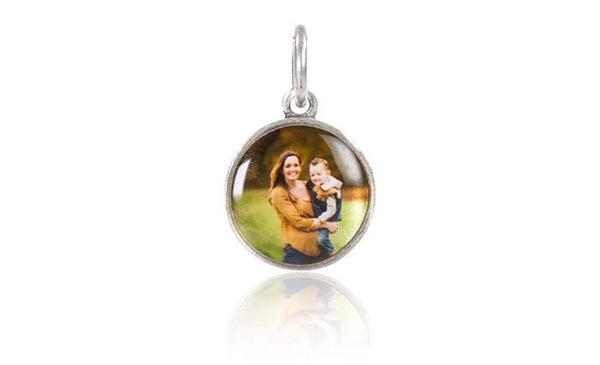 Image of Small 1/2 Inch Photo Charm