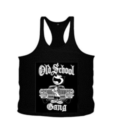 Image of 101T OLD SCHOOL GANG TANK TOP