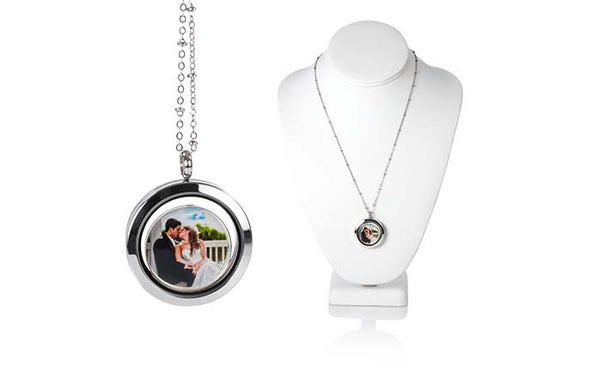 Image of Floating Glass Locket