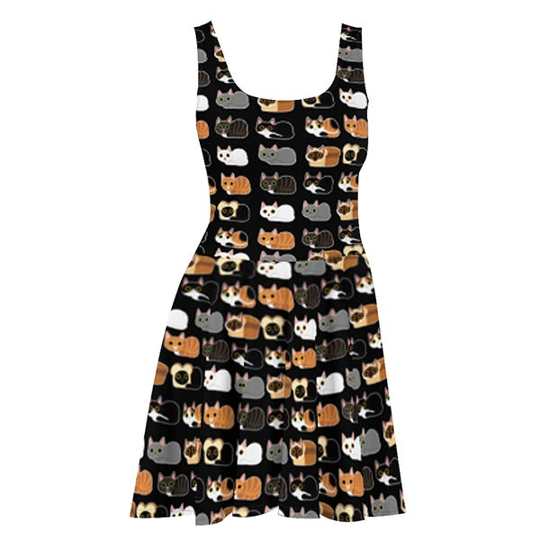 Image of Cat Loaves Dress