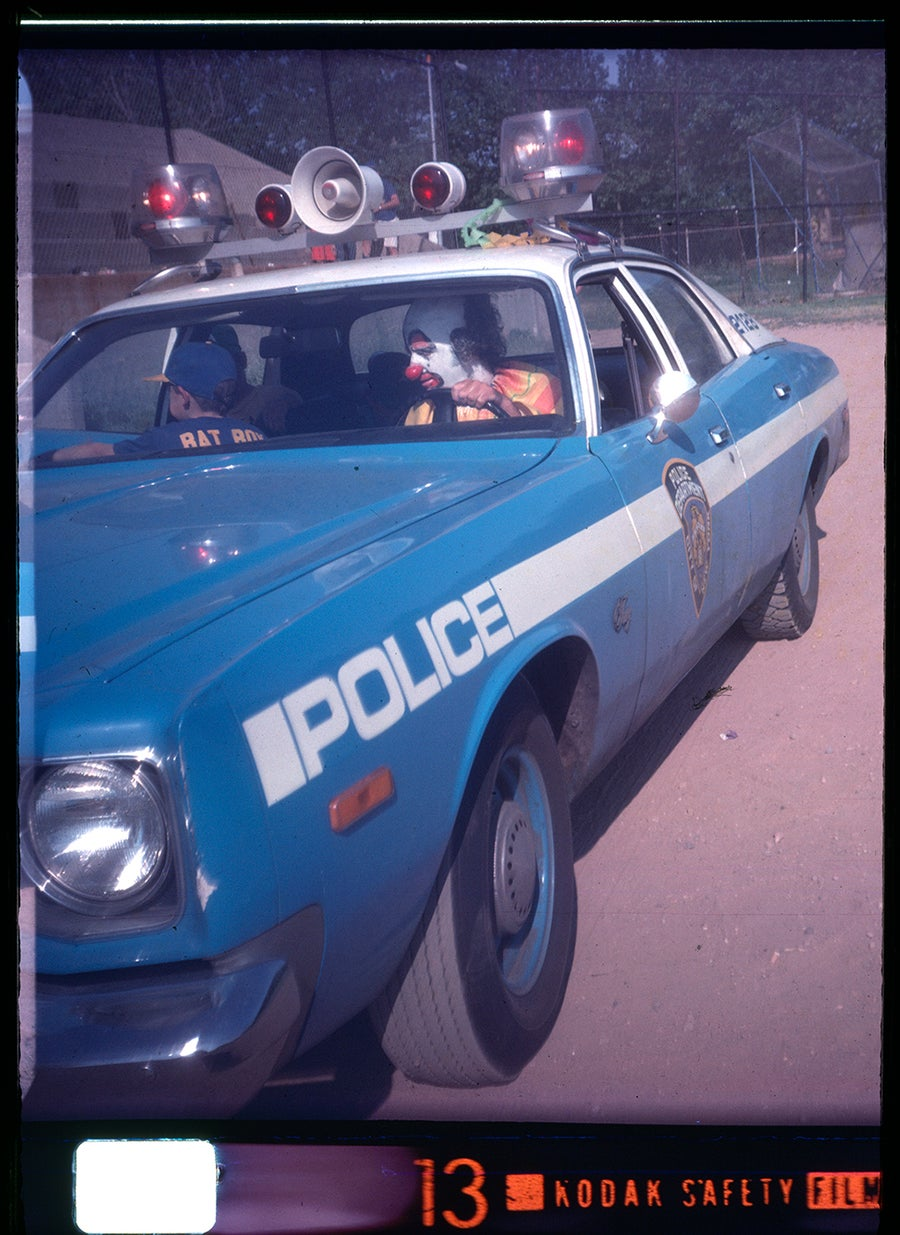 Image of PoPo The Clown. NYC 1977