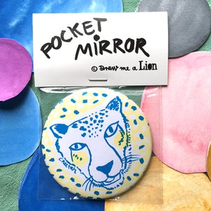 Image of Cheetah Pocket Mirror