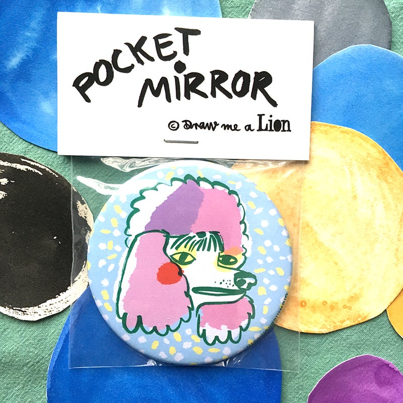 Image of Poodle Pocket Mirror