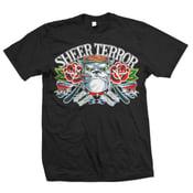 "Image of SHEER TERROR ""Classic Bulldog Traditional Flash"" T-Shirt"