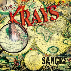 "Image of THE KRAYS ""Sangre"" Vinyl LP"