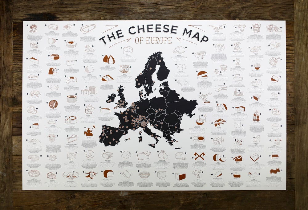 Image of The Cheese Map