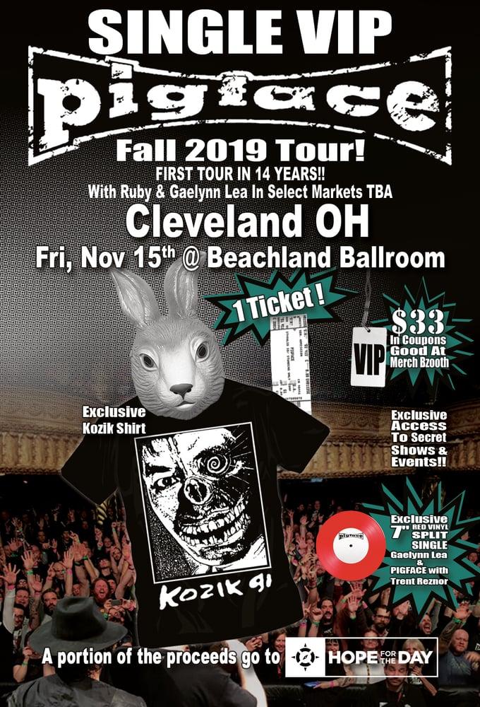 Image of VIP Single Ticket Fri. Nov. 15th Cleveland, OH @ Beachland Ballroom