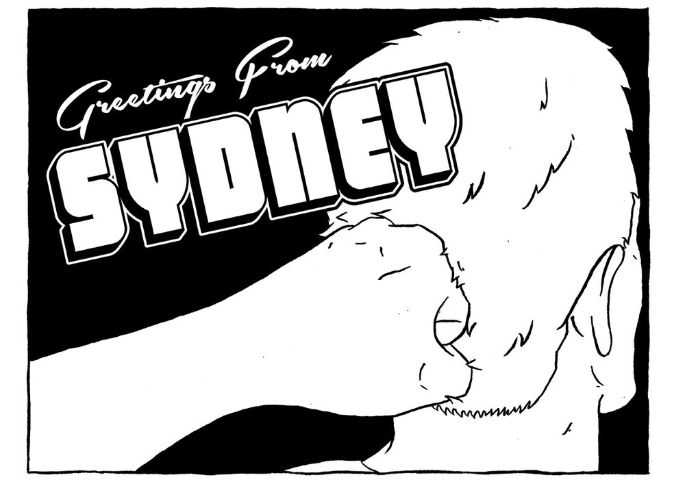 Image of Greetings From Sydney T-Shirt