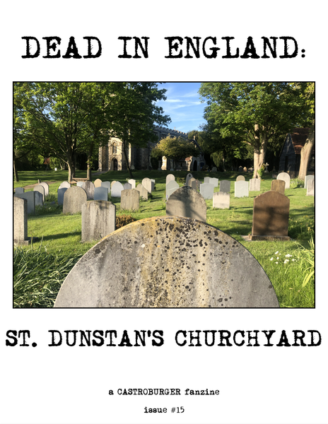 Image of Dead in England: St. Dunstan's Churchyard
