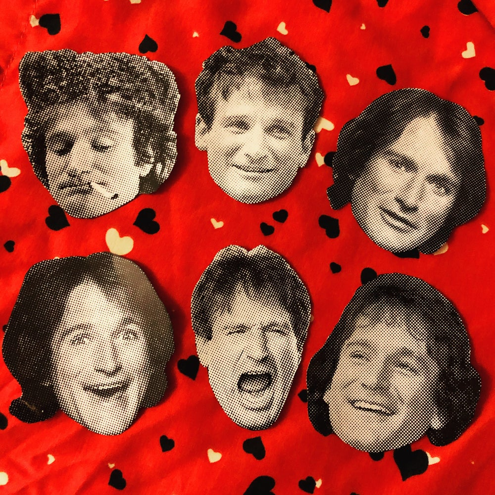 Image of Robin Williams sticker pack