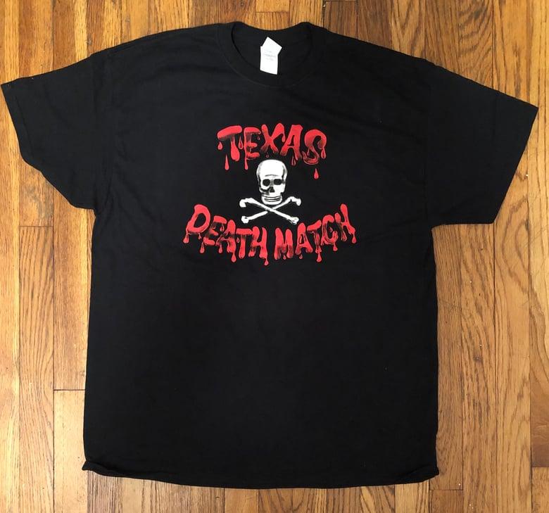 Image of TEXAS DEATH MATCH T-SHIRT - BLACK