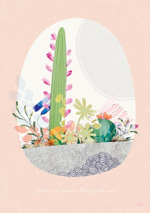 Image of Cactus Springs - Art Print