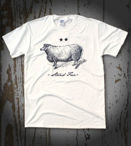 Image of Flossie Etching (White)