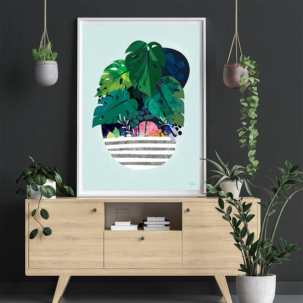 Image of Morning Monstera - Art Print