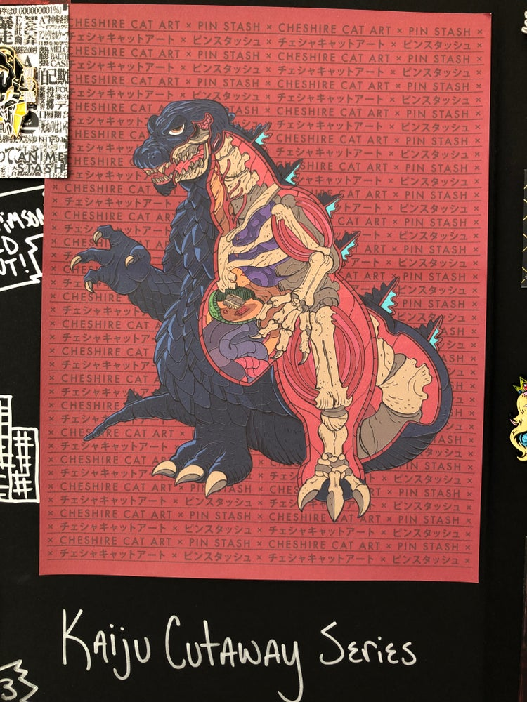 Image of Godzilla - Kaiju Cutaway Series